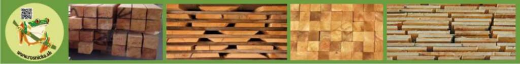 Rosnička - stavebné rezivo